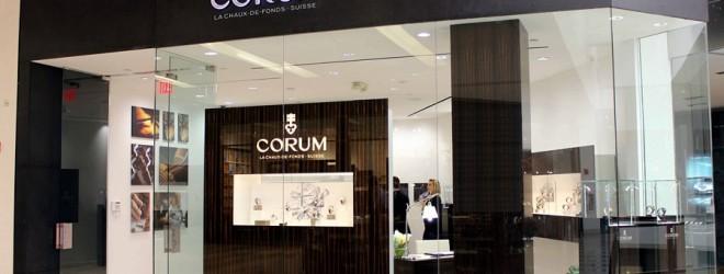 Corum ouvre une boutique à Miami