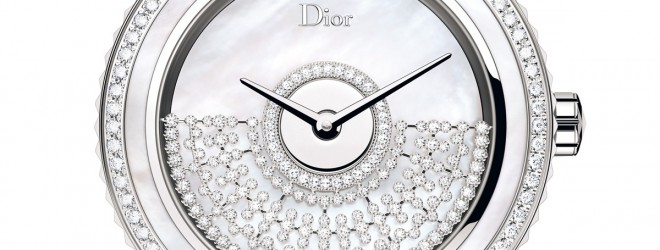 DIOR VIII GRAND BAL MODELE RESILLE BLANCHE 38 mm