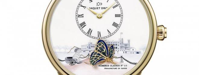 Jaquet Droz The Loving Butterfly Only Watch 2013