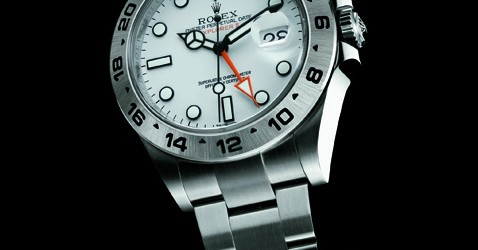 Rolex Oyster Perpetual Explorer II front